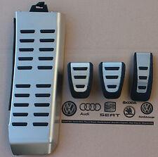 Audi rs5 original pedalset pedales pedal tapas apoyapies Footrest pedal pads Caps