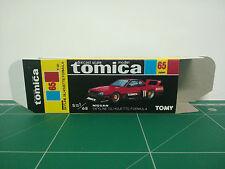 REPRODUCTION BOX for Tomica Black Box No.65 Nissan Skyline Silhouette Formula