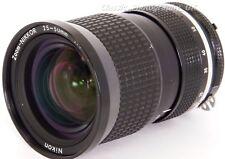 ZOOM Nikkor 25-50mm 1:4 VERSATILE WIDE-ANGLE Nikon Ai Lens for FILM & DIGITAL