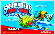 EB GAMES SKYLANDERS TRAP TEAM CAPTURE EVIL UNLEASH GOOD COLLECTIBLE GIFT CARD