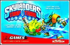 EB GAMES SKYLANDERS TRAP TEAM CAPTURE EVIL UNLEASH GOOD COLLECTIBLE GIFT CARD