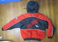 VINTAGE Scranton Wilkes Barre Red Barons PRO PLAYER winter Jacket  Coat Size L