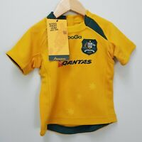 KOOGA Size 1 Authentic Wallabies Rugby AUSTRALIA Toddler Jersey NEW + TAGS
