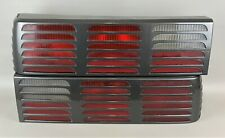 87-93 Ford Foxbody Mustang GT Cheese Grater Tail Light Lens Housings