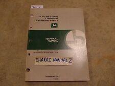 John Deere 38, 48, 54 Inch Commercial Walk-Behind Mower Technical Manual