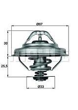 Coolant Thermostat 92 degC BMW E36 E39 E34 318i 320i 520i TX2892D 11537733803