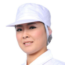IC- Cy_ Unisex Breathable Elastic Mesh Worker Cap Factory Workshop Kitchen Chef