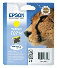 EPSON T0714 TINTE PATRONEN DX6000 DX6050 DX7000F DX7400 DX7450 DX8400 D92