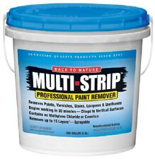 (4) ea Multi-Strip Ms01 1 Gallon Environmentally Safe Professional Paint Remover