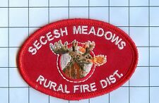 Fire Patch - Secesh Meadows Rural Fire Dist.