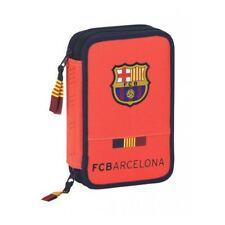 FC BARCELONA 34 Piece Pencil Case Stationery Set