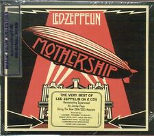 LED ZEPPELIN MOTHERSHIP REMASTERED VERY BEST GREATEST HITS 2 CD SET NEW 2015
