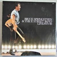 """Bruce Springsteen & The E Street Band Live 1975-85""  Vinyl LP 5 Record Box Set"