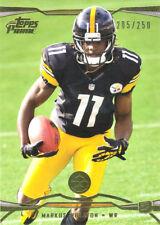 Prime-Gold Markus Wheaton Rc #'D /250 Eagles Bears Steelers Oregon St Beavers