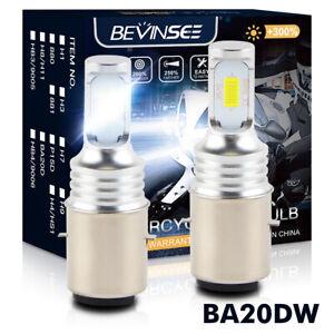 2X BA20D H6 LED Headlight Bulb For Husaberg FE250 350 390 450 501 570 2009-2013