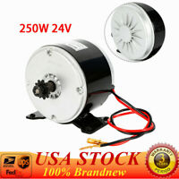 24V DC 250W High Speed Electric Bike Bicycle Scooter Motor 11T Sprocket MY1016