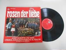 LP Volksmusik Josef Augustin - Rosen der Liebe (12 Song) TELEFUNKEN