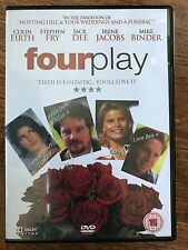Colin Firth Stephen Fry Jack Dee Fourplay ~2001 Comédie~ GB DVD