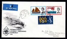 1963 Lifeboat Conference neat illustrated FDC (CRD) WS10337