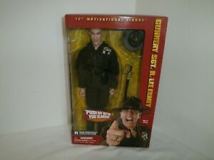 2001 Sideshow Gunnery SGT. R.Lee Ermey 12in. Motivational Figure Signed & Dated
