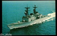 USS John Hancock DD-981 postcard  US Navy ship  Destroyer