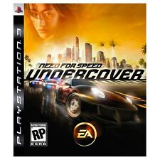 NEED FOR SPEED UNDERCOVER GAME GIOCO USATO PER PLAYSTATION 3 PS3