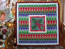 10% Off The Tapis-Tree Needlepoint Kit - Holly Square