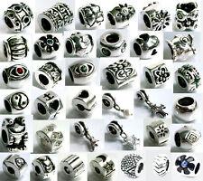 925 ECHT SILBER *** Wählen Sie 4 Armband Module Beads Clips