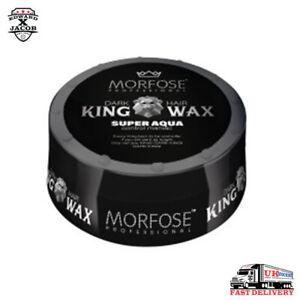 MORFOSE - DARK KING HAIR WAX - SUPER AQUA - CONTROL MANIAC - 175ml