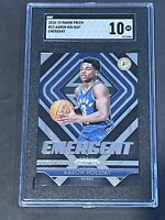 2018 Panini Prizm Emergent SGC 10 Aaron Holiday RC Low POP Rookie PSA ?