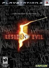 Resident Evil 5 Playstation PS3 Steelbook editon