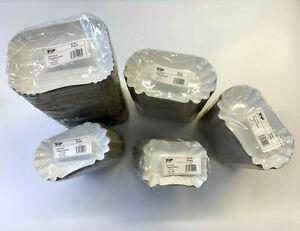 Pappschüsseln Pommesschalen 250 Stück weiß Imbiss Curry Wurst Einweg Schalen