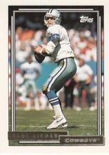 1992 Topps Gold #744 Troy Aikman Cowboys
