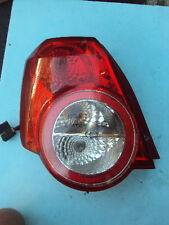 07 08 09 10 11 CHEVROLET AVEO Tail Light Assembly, Left Side, Driver, EXC.