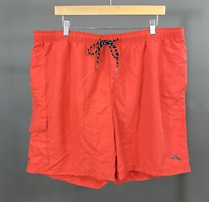 "TOMMY BAHAMA Relax Coral Swimming Trunks Men's Sz 2XL Elastic Waist 38"" - 40"""