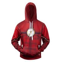 The Flash Cosplay Costume 3D Printed Premium Sweatshirt Pullover Hoodie