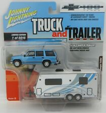 2018 Johnny Lightning *TRUCK & TRAILER 2B* 1997 Chevrolet Tahoe w/CAMPER TRAILER
