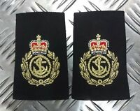 Genuine British Royal Navy RN Chief Petty Officer CPO Rank Slides / Epaulettes