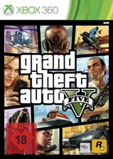 Microsoft Xbox 360 game - Grand Theft Auto V / GTA 5 EN/GER boxed