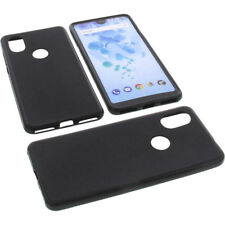 Case for Wiko View 2 Cell Phone Pocket Cases TPU Rubber Case Black