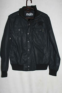 Blac Label Premium Jacket Medium with Embroidered Patches Iron Cross