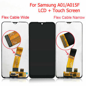 For Samsung Galaxy A01 A015 A015F Black LCD Screen Display Digitizer Assembly