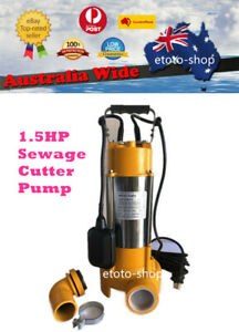 240V Industrial Grade Submersible Sewage Cutter Shredder Pump