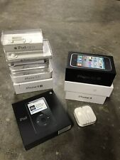Apple iPod Classic Cases Lot Boxes Only - No Devices Nano Touch Ipod 3Gs 5S 4s