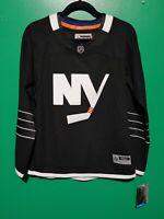 Reebok New York Islanders Black Premier Hockey Jersey Sz M Women NWT!!