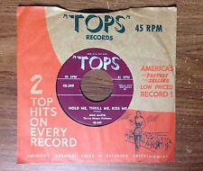 "1952 Mimi Martel ""Hold Me, Thrill Me, Kiss Me/Till I Waltz Again With You"" 45"