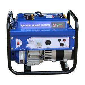 Green-Power America 1500 Watt Portable Gas Powered Generator w/ Recoil Start