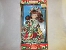 Porcelain Holiday Classic 12 Inch Doll from Soft Expressions New