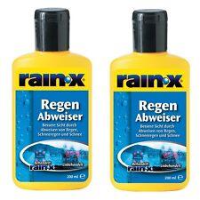 2x Rain X Regenabweiser 200ml Auto Scheibenreiniger Scheibenwischer