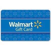 $100 Walmart Gift Card - Same Day Shipping!